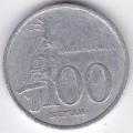 100 рупий. 2005 г. Индонезия. Какаду. 12-1-92
