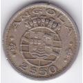 2,5 Эскудо. 1968 г. Ангола. 12-1-221