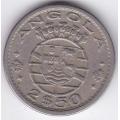 2,5 Эскудо. 1967 г. Ангола. 12-1-222