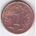 1 цент. 1994 г. Зимбабве. 12-1-231