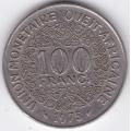 100 франков. 1975 г. Западная Африка. 12-1-243