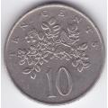 10 центов. 1987 г. Ямайка. 12-4-221
