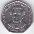 1 доллар. 1996 г. Ямайка. Вильям Александр Бустаманте. 12-4-231