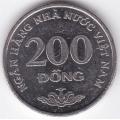 200 донгов. 2003 г. Вьетнам. 12-4-280
