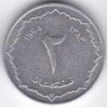 2 сентима. 1964 г. Алжир. 12-2-563