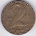 2 форинта. 1983 г. Венгрия. 7-4-462