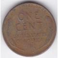 """1 цент. 1944 г. США. (""""Пшеничный"""" цент). 10-2-538"""