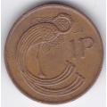 1 пенни. 1988 г. Ирландия. 10-2-550