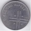 2 рупии. 2006 г. Индия. 10-3-663