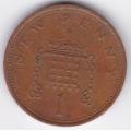 1 новый пенни. 1976 г. Великобритания. 7-6-295