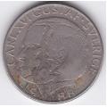 1 крона. 1988 г. Швеция. Карл XVI. 7-6-301