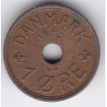 1 эре. 1936 г. Дания. 10-4-654
