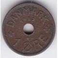 1 эре. 1929 г. Дания. 10-4-655