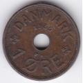 1 эре. 1939 г. Дания. 10-4-657