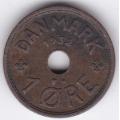 1 эре. 1932 г. Дания. 10-4-659