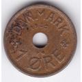 1 эре. 1939 г. Дания. 10-4-660