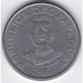 50 гуарани. 1980 г. Парагвай. 6-3-468