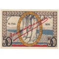 Аугустенборг, Датский Шлезвиг-Гольштейн. 50 эре. 1921 г. Нотгельд. Б-968