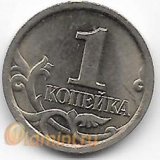 1 копейка. 1999 г. С-П. Россия. 3-6-1
