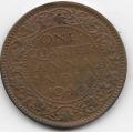 1/4 анны. 1940 г. Британская Индия. Георг VI. 15-6-265