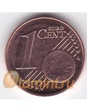 1 евроцент. 2014 г. Латвия. 18-3-125