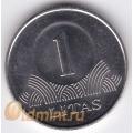 1 лит. 2008 г. Литва. 18-2-1