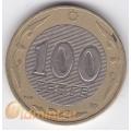 100 тенге. 2006 г. Казахстан. 18-2-30