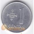 1 цент. 1991 г. Литва. 18-2-38
