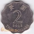 2 доллара. 2008 г. Гонконг. 18-2-40