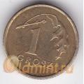 1 грош. 2008 г. Польша. 18-2-73