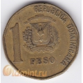 1 песо. 1993 г. Доминиканская Республика. 4-2-291
