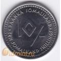 10 шиллингов. 2006 г. Сомалиленд. Бык. 4-2-389
