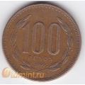 100 песо. 1999 г. Чили. 4-4-136