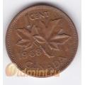 1 цент. 1968 г. Канада. 4-4-211