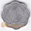 1 цент. 1992 г. Карибские острова. 11-2-8