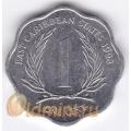1 цент. 1993 г. Карибские острова. 11-2-9