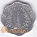 1 цент. 1994 г. Карибские острова. 11-2-10