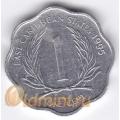1 цент. 1995 г. Карибские острова. 11-2-11