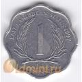 1 цент. 1997 г. Карибские острова. 11-2-12