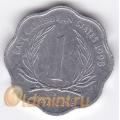 1 цент. 1998 г. Карибские острова. 11-2-13