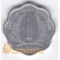1 цент. 2000 г. Карибские острова. 11-2-15