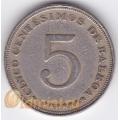 5 сентесимо. 1966 г. Панама. 11-2-119
