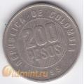 200 песо. 1995 г. Колумбия. 11-3-154