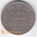 200 песо. 1995 г. Колумбия. 11-3-155