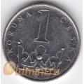 1 крона. 2003 г. Чехия. 11-4-283