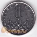 1 крона. 2006 г. Чехия. 11-4-284