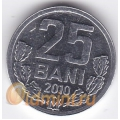 25 бани. 2010 г. Молдова. 18-3-79