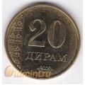 20 дирам. 2011 г. Таджикистан. 18-4-1