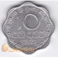 10 центов. 1991 г. Шри-Ланка. 18-4-12