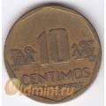 10 сентимо. 2003 г. Перу. 18-3-34